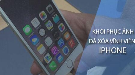 Hưỡng dẫn 4 Cách Khôi Phục Ảnh Đã Xóa Vĩnh Viễn Trên Iphone