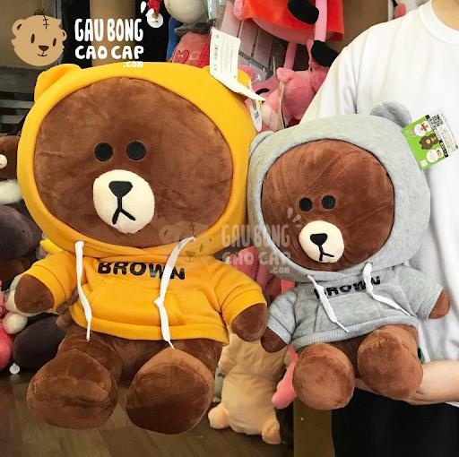 Gấu Brown và Thỏ Cony – Bộ đôi gấu bông siêu dễ thương đang hot nhất hiện nay 2020