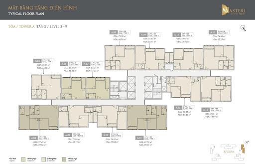 Mặt bằng dự án căn hộ Masteri Quận 9 sở hữu vị trí kim cương ngay trung tâm Đại đô thị Vinhomes Grand Park 2020